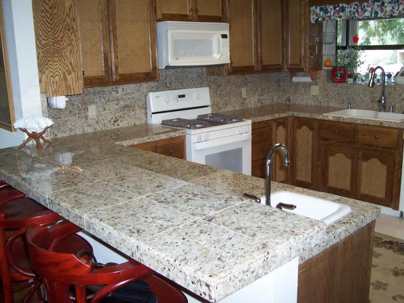 Tile Countertops For Kitchens : Tile counter top highlands ranch co tops